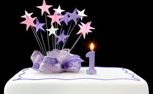 5 consigli per festeggiare il primo compleanno