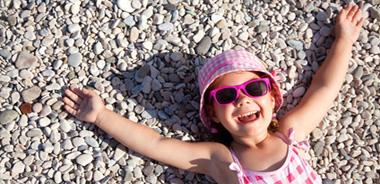 La protezione solare nei primi tre anni