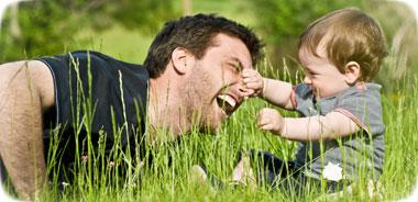 Un papà come pochi: davvero pochi?
